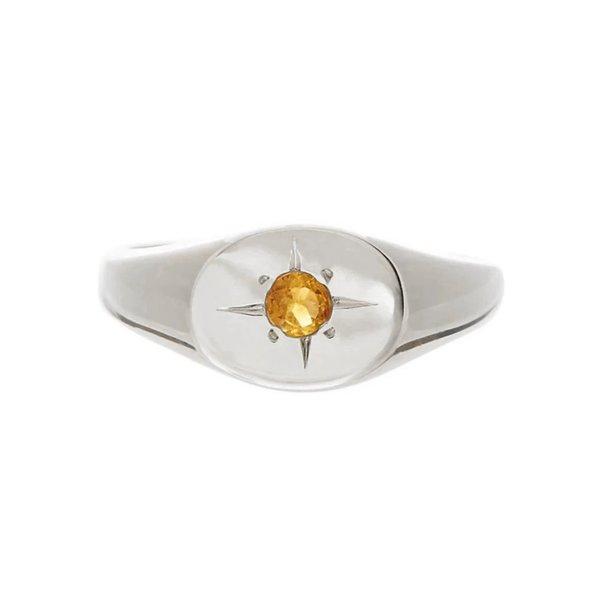 Tarin Thomas Nara Citrine Ring