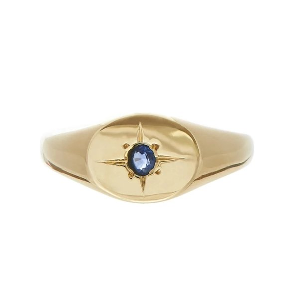Tarin Thomas Nara Sapphire Ring