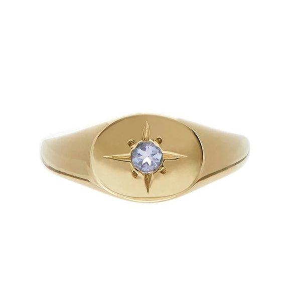 Tarin Thomas Nara Tanzanite Ring