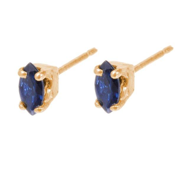 Tarin Thomas Reagan Sapphire Earrings