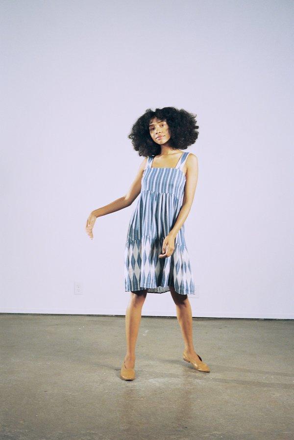 Maria Stanley DAHLIA DRESS - indigo