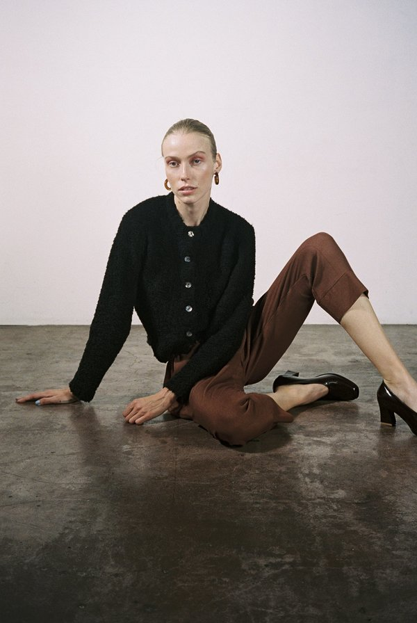 Maria Stanley KHELLER TROUSER - clove