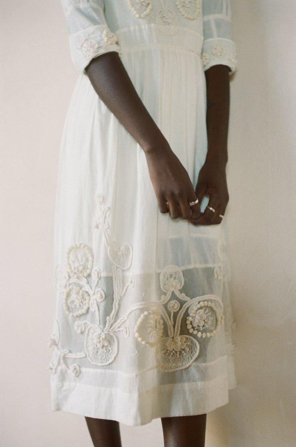 Maria Stanley SYDNEY DRESS - coconut