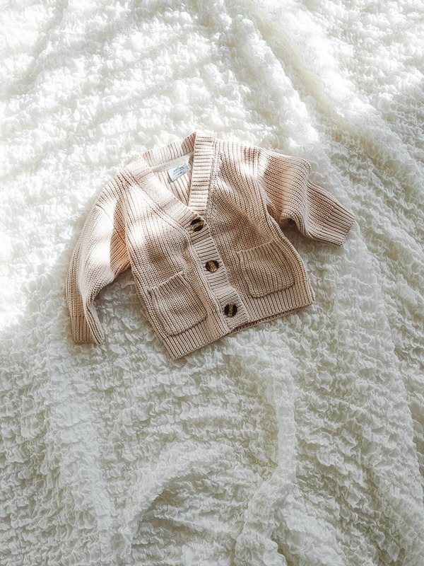 Orcas Lucille - Chunky Knit Cardigan - Cream
