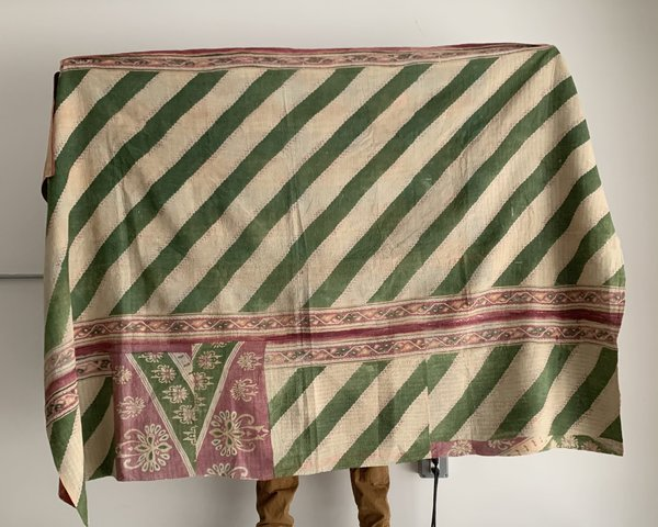 Vintage Kantha Blanket - V