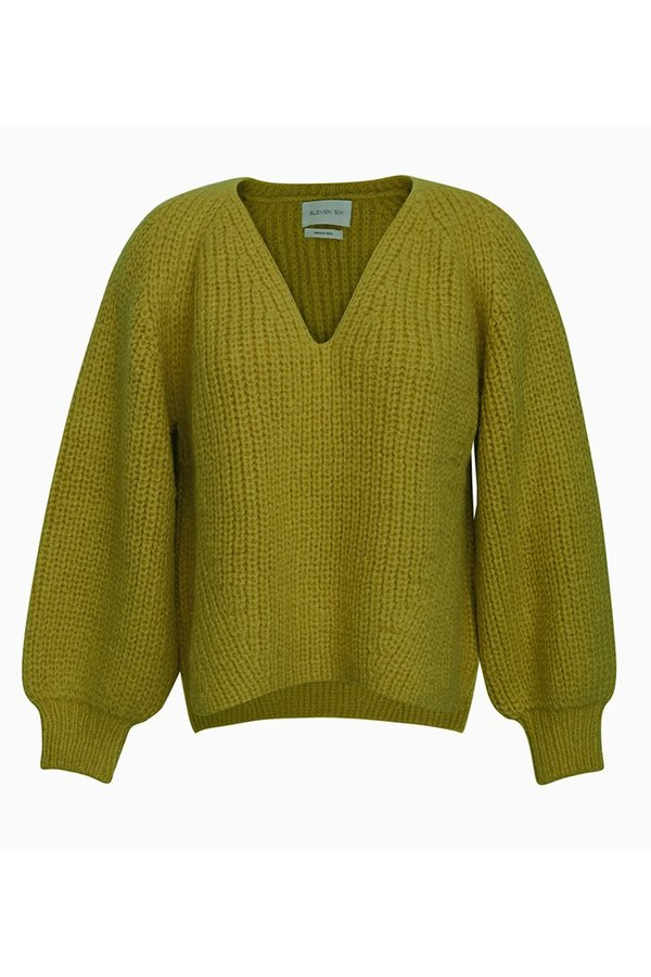 Eleven Six Tess Sweater - Citrine