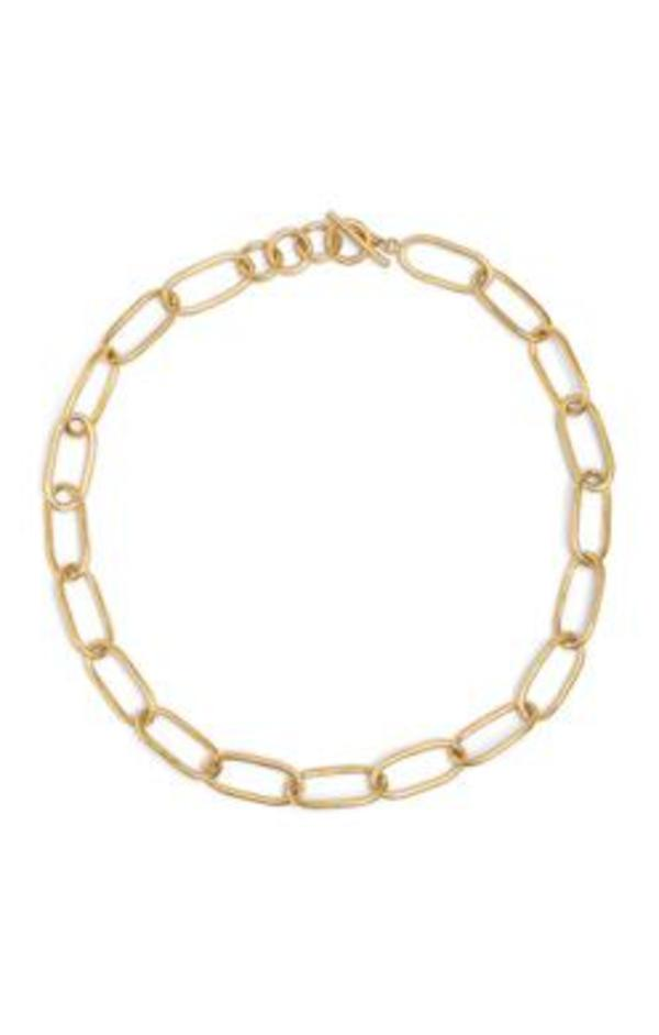 Soko Ellipse Link Collar Necklace - Gold