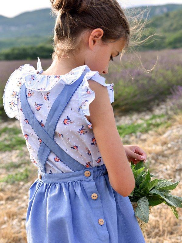 Kids Petite Lucette Lucy Dress - Blue