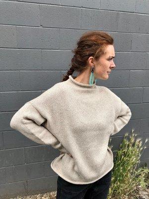 Lauren Manoogian Bateau Rollneck - Oatmeal