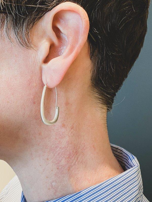 Silver Katachi Earrings