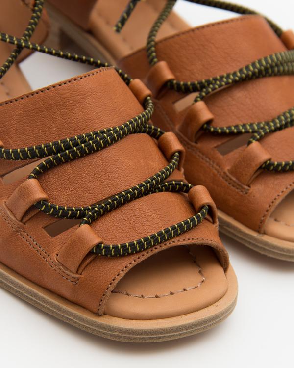 Naguisa Lava sandal - Brown
