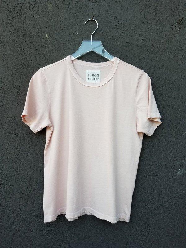 Le Bon Shoppe Vintage Boy Tee - Ballet Pink