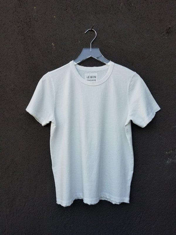 Le Bon Shoppe Vintage Boy Tee - White