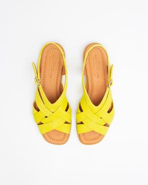 Naguisa Tosca sandal - Yellow