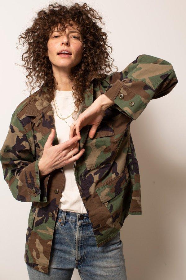 Vintage Military #3 Jacket - Camo