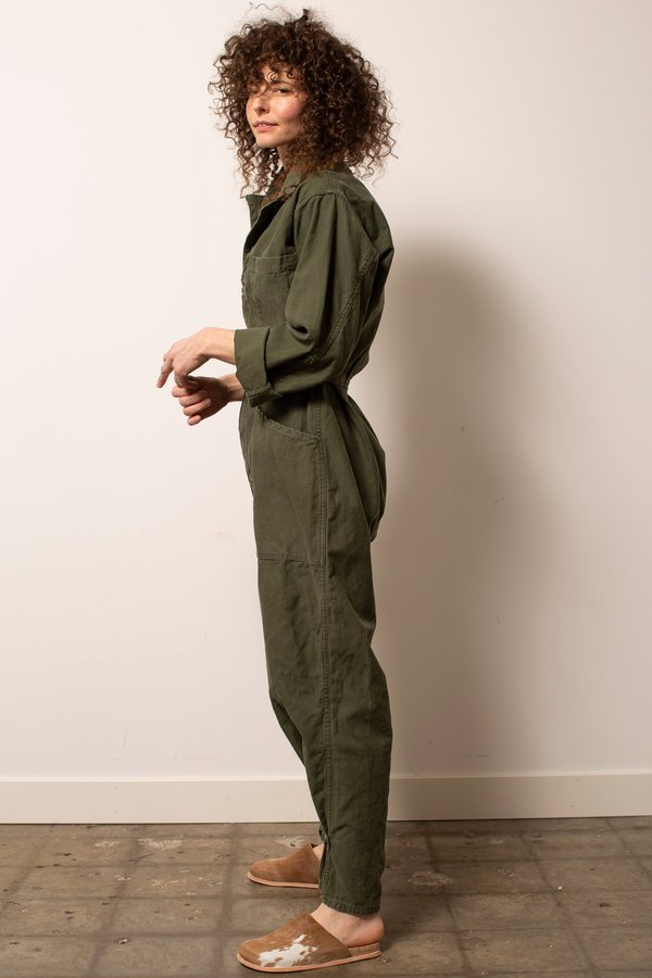 Vintage Military #27 Flight Suit - Green