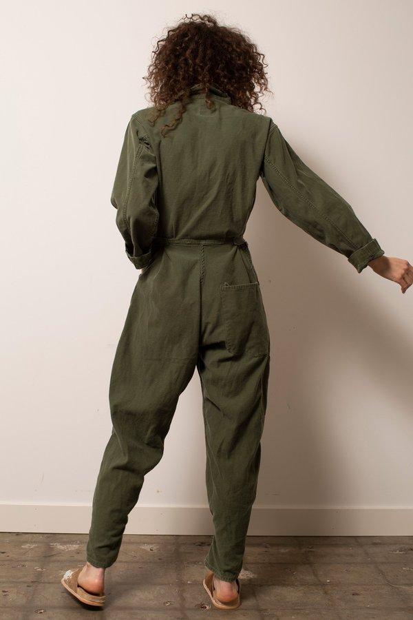 Vintage Military #28 Flight Suit - Green