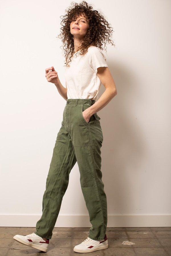 Vintage Military Pants - Green