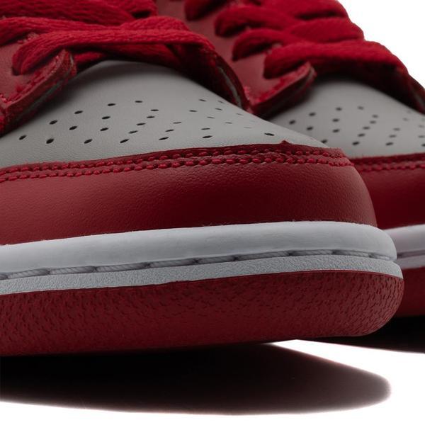 Nike Dunk Low GS Medium Grey / Varsity Red