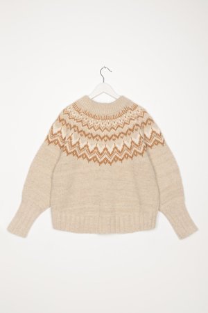 Sayaka Davis Fairisle Sweater