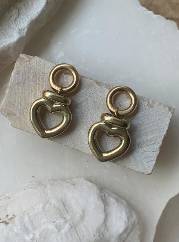 Laura Lombardi Dolce Earrings - Gold