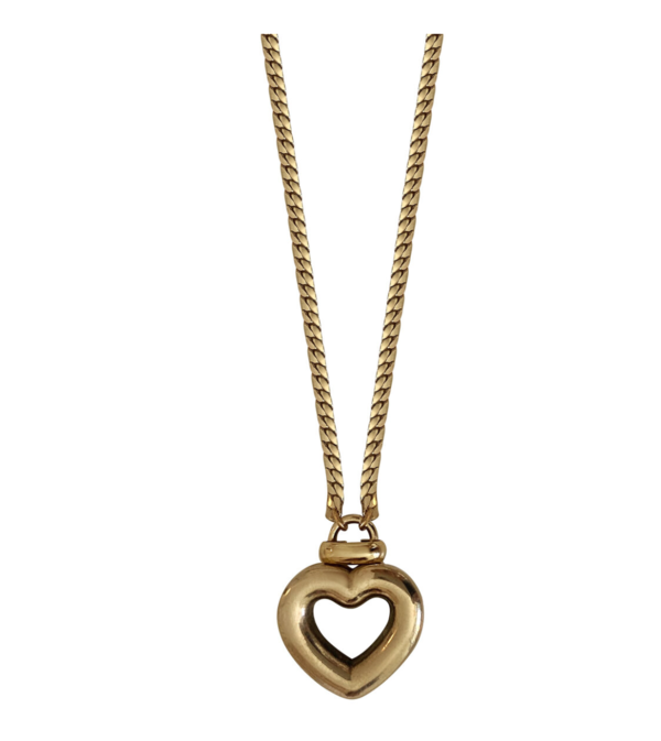 Laura Lombardi Dolce Pendant Necklace - Brass/Gold