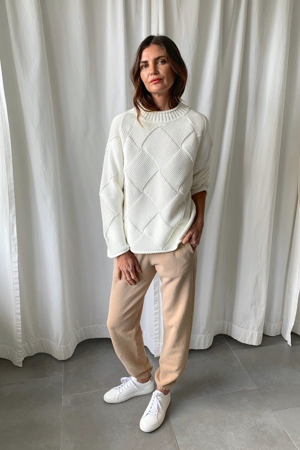 Closed Weave Sweater