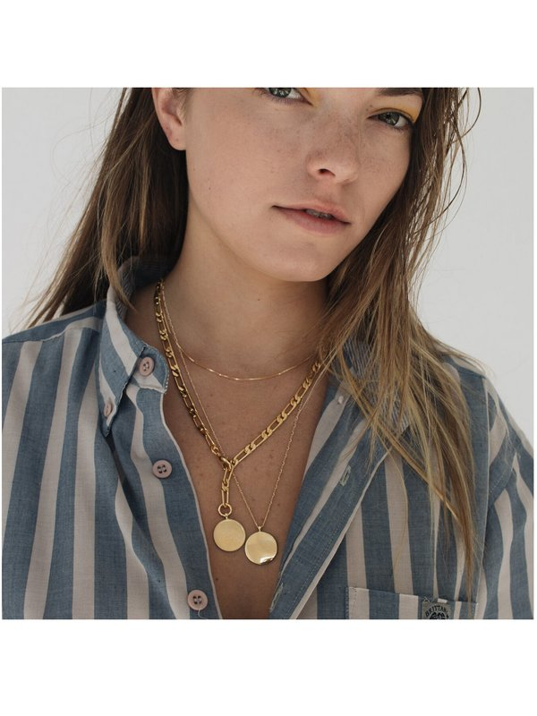 Merewif Monty Chain Necklace - Gold