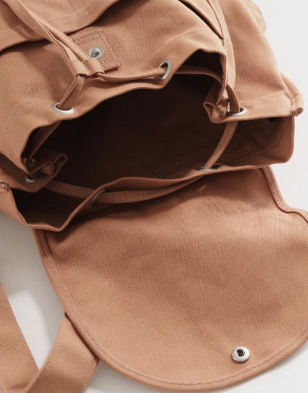 Baggu Drawstring Backpack - Adobe