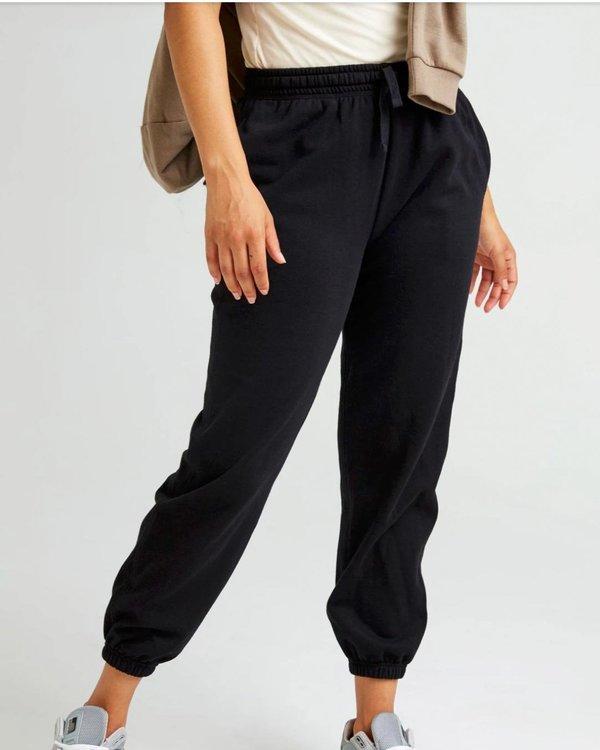 Richer Poorer Recycled Fleece Classic Sweatpants - Black