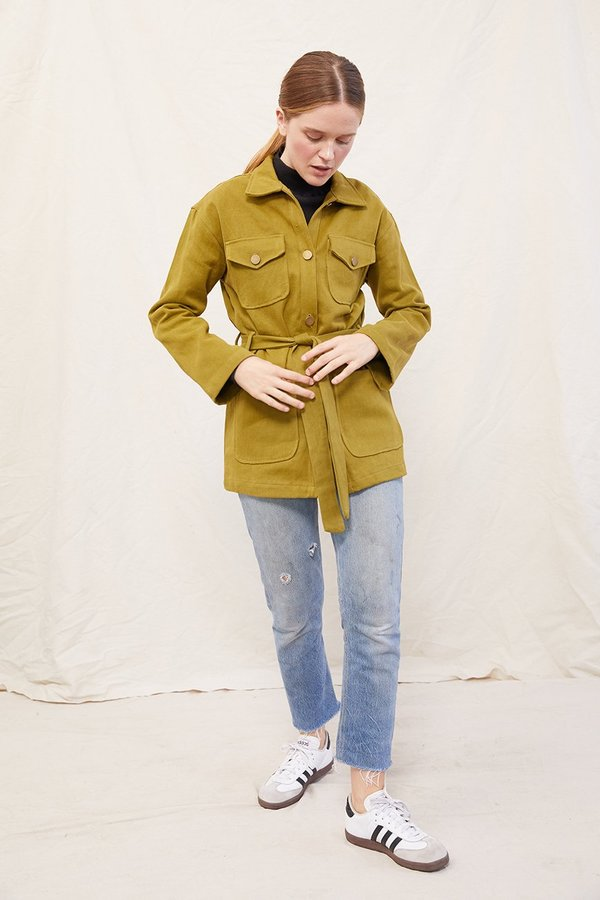 SECONDS - Hemp Safari Jacket