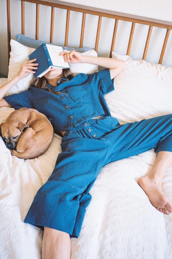 SECONDS- Organic Cotton Pajama Top