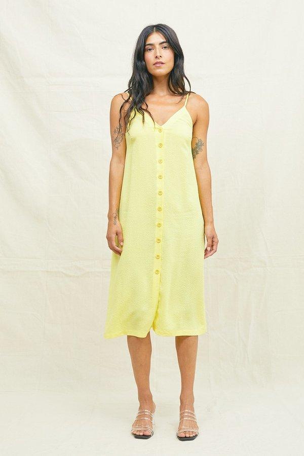 SECONDS- Tencel Seersucker Slip Dress