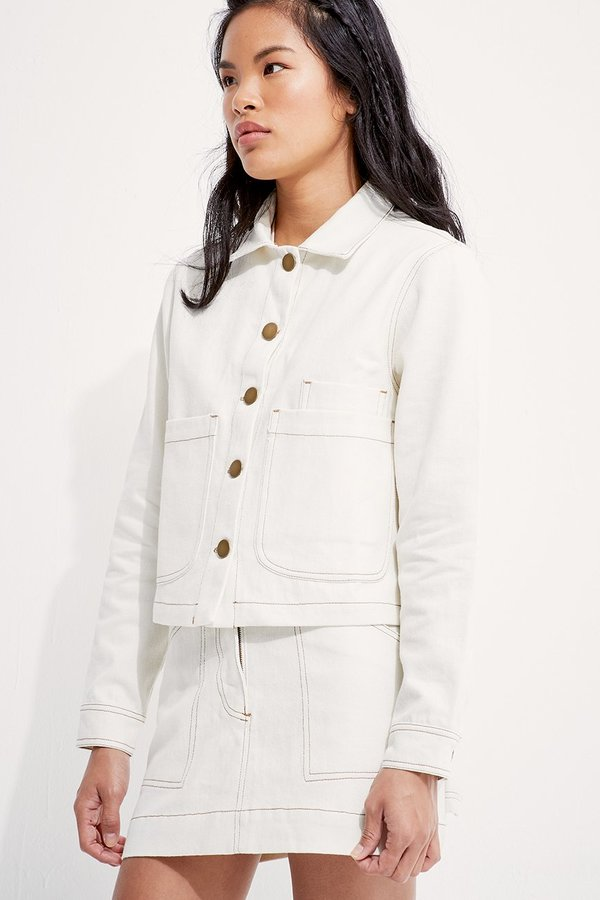 SECONDS-Hemp Work Jacket