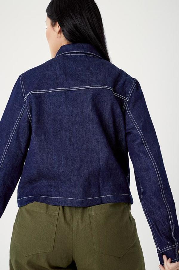 SECONDS-Hemp Work Jacket