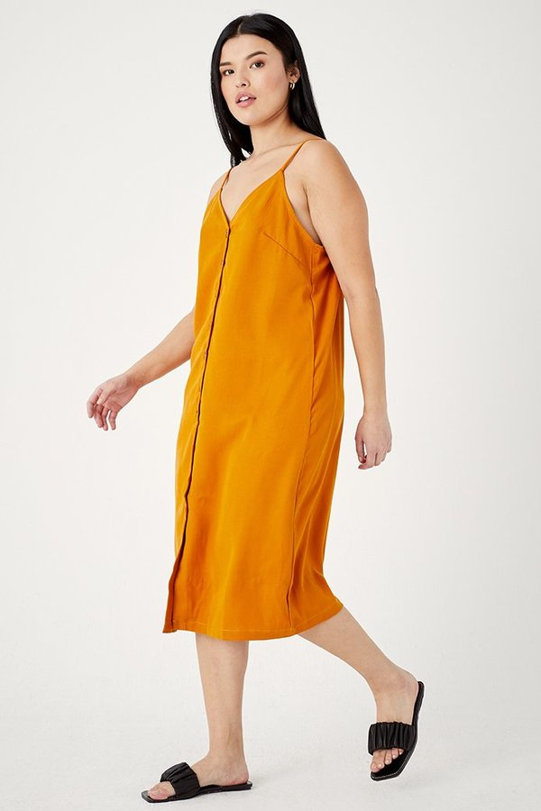 SECONDS-Tencel Slip Dress