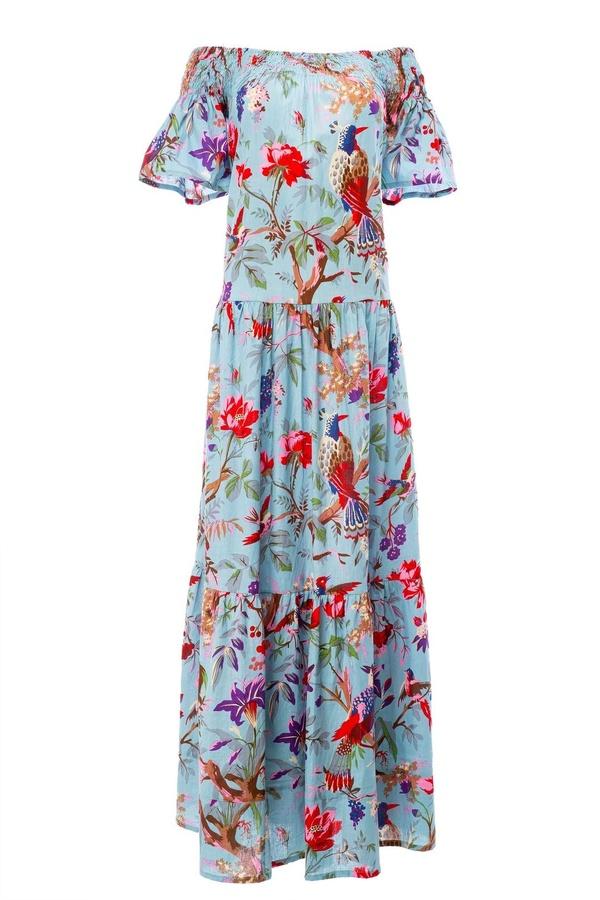 Guadalupe Momposina dress - Raven Blue