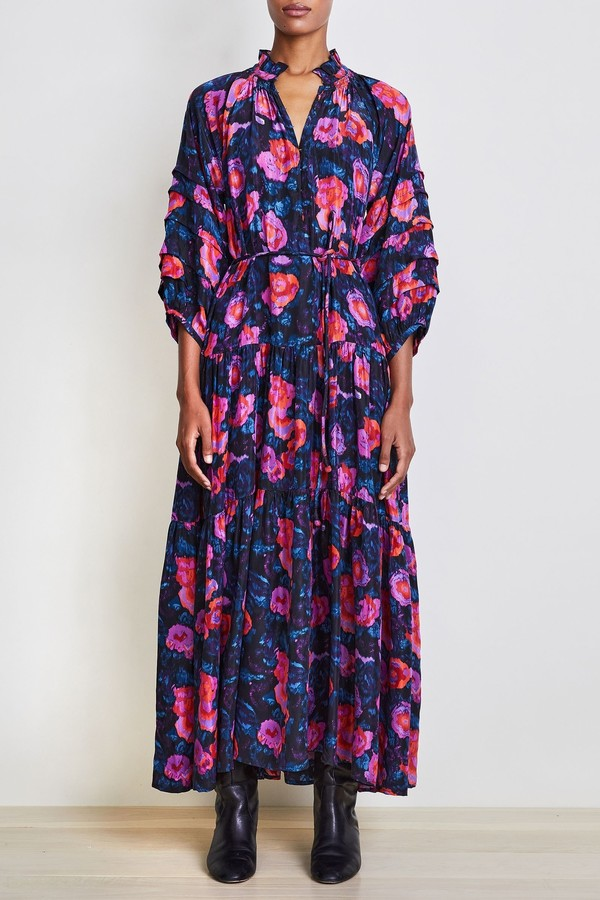 Apiece Apart Silk Trinidad Dress