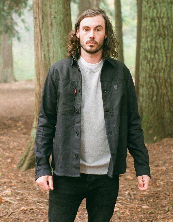 Topo Designs Men's Dual Shirt - Black