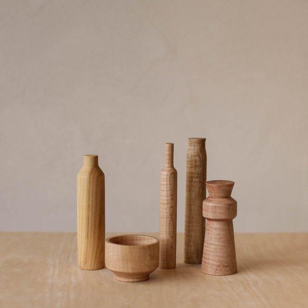 Sculpture Set of 5 - Maple