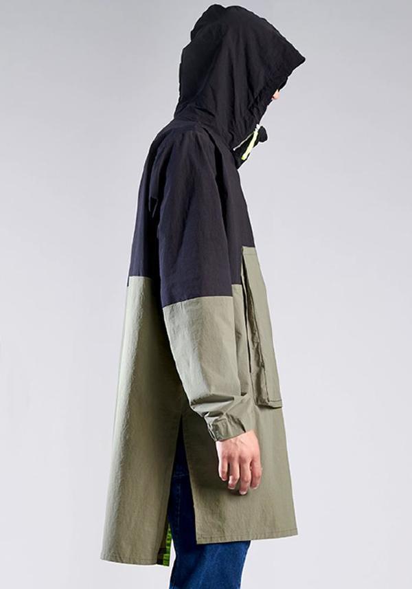 Syngman Cucala Oversized Sporty Pullover - KHAKI