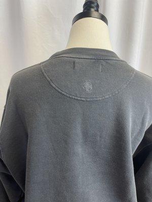 [Pe-loved] Anine Bing Metallic Sweatshirt - Gray