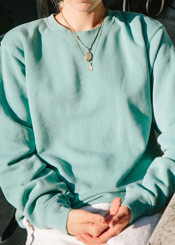 Merritt Charles Sweet caroline sweatshirt - sage
