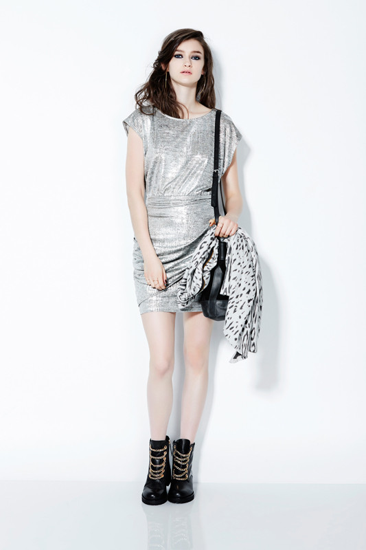 Eve Gravel St-Laurent Dress (Gold or Silver)
