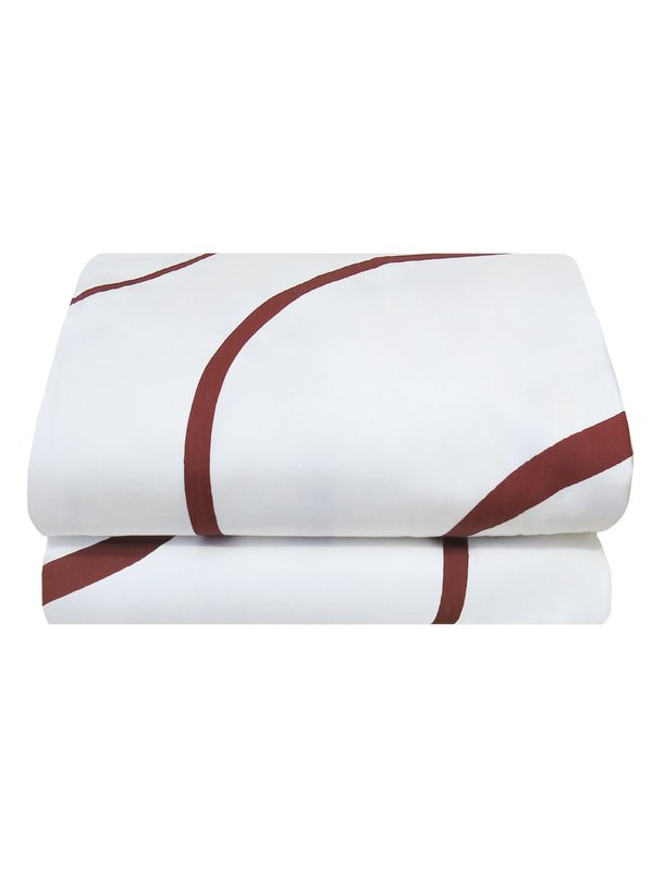 Mosey Me Salento Quilt Cover Set - Wine & Orchid