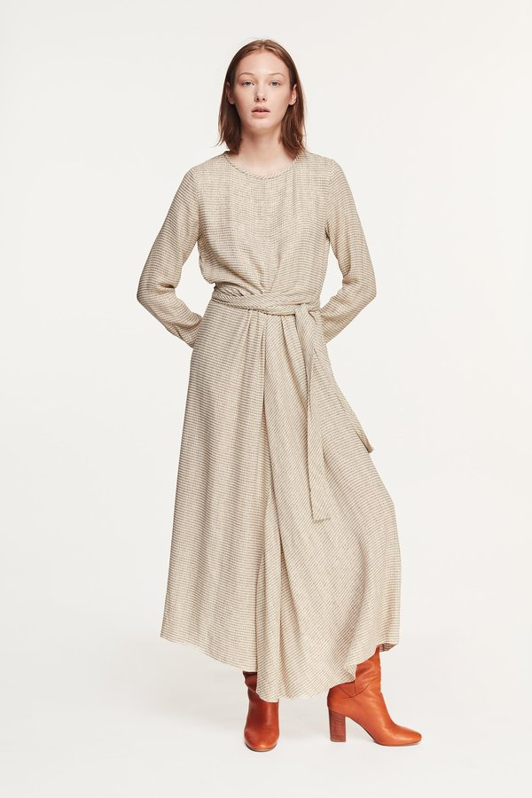 Pomandere lurex Dress - Milk