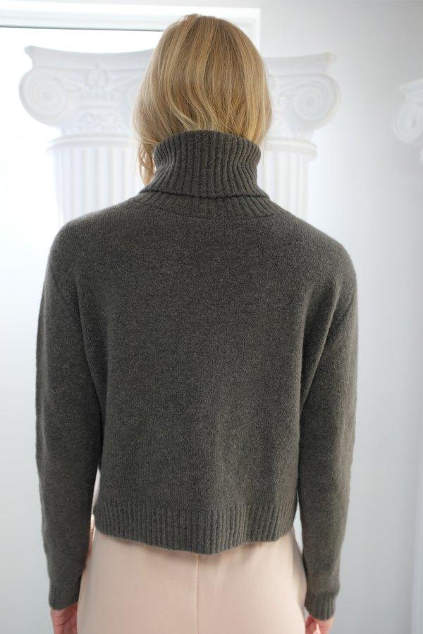 Beklina ASMR Turtleneck Sweater - Charcoal