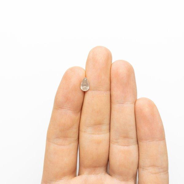 Icy Brilliant Diamond - 1.04ct Pear
