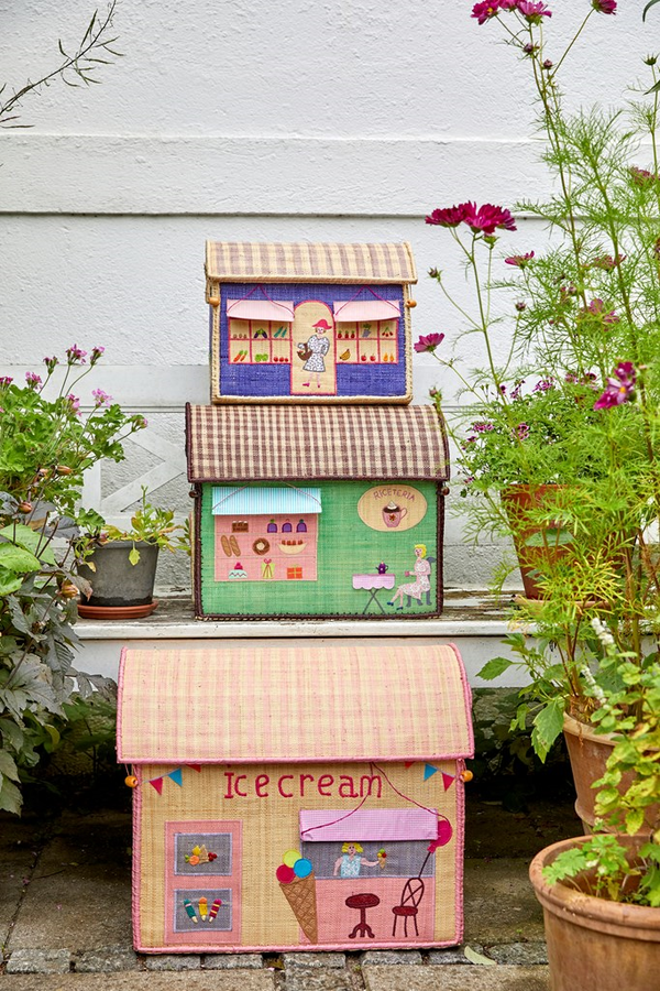 Kids Rice Large Toy Basket - Shop Design