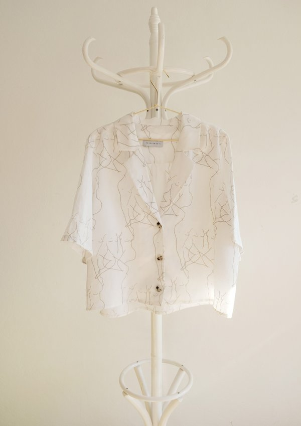 OhSevenDays Fiorenza Cropped Blouse